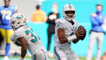 Dolphins' Tua Tagovailoa tosses first career TD vs. Rams