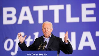 Biden, campaigning in battlegrounds on eve of election, says it's time for Trump to 'pack his bags'