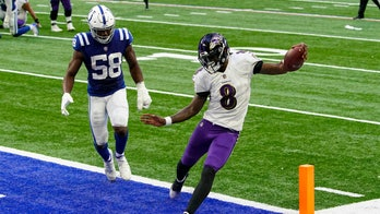 Ravens set NFL record for 20-point games with win in Indy