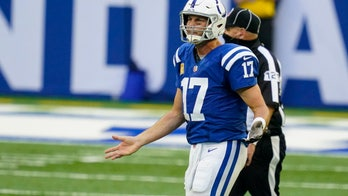 Colts' Philip Rivers unhappy with catch rule on overturned interception