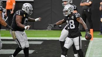 Raiders run over mistake-prone Broncos 37-12