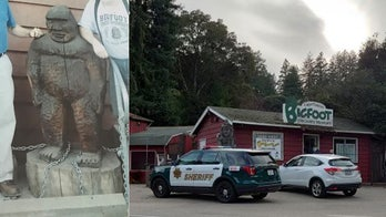 Bigfoot statue stolen from California museum, police warn 'keep your eyes peeled'