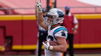 Panthers' Christian McCaffrey teams up with Lowe's to build lounge at Veterans Bridge Home in NC