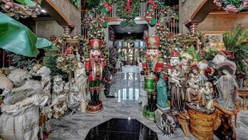 New Jersey Christmas mansion selling for $2.19M overflows with holiday decor