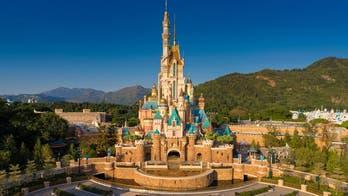 Hong Kong Disneyland unveils castle makeover
