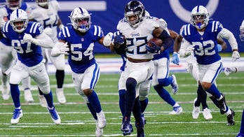 Henry leads Titans' run to AFC South lead 45-26 over Colts