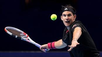 Thiem beats Tsitsipas in 3 sets in ATP Finals opener