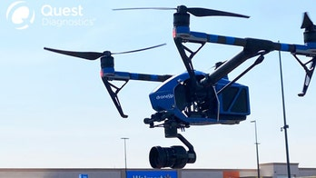 Coronavirus tests delivered by drone pilot project in Texas