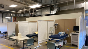 Amid coronavirus strain, Mayo Clinic puts ER beds in ambulance garage