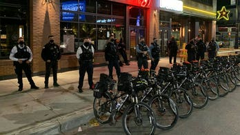 Chicago Police out throughout city ensuring safety on Election Night