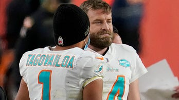 Dolphins' Tua Tagovailoa benched for Ryan Fitzpatrick in 20-13 loss to Broncos