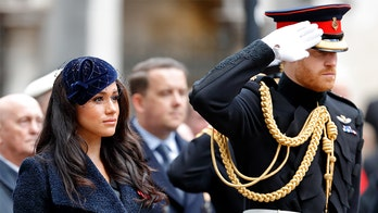 Prince Harry, Meghan Markle honor Remembrance Day after palace refuses to lay wreath on royals' behalf: report