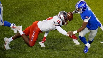 Air Force's Roberts scores 3 TDs in 28-0 win over New Mexico