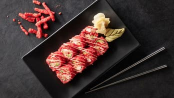 Sushi chain unleashes Cheetos Flamin' Hot Roll for 'one-of-a-kind experience'