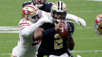 Saints' Jameis Winston takes over for injured Drew Brees, leads New Orleans to win vs. 49ers