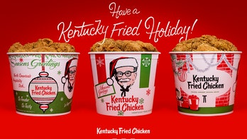 KFC to sell chicken in replica 'holiday buckets' from the '60s and '70s to remind us of a 'simpler time'