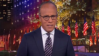 NBC's Lester Holt rips MAGA march as 'superspreader' to be 'mad' at, avoids Biden victory crowds, BLM protests