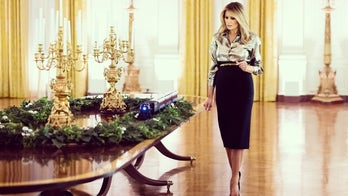 Melania Trump unveils White House Christmas decorations, theme for 2020