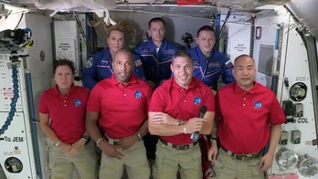 NASA astronauts set for Thanksgiving in space