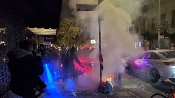NYC demonstrators set fires, clash with police in election protest; dozens arrested