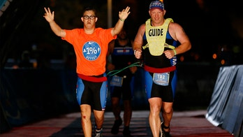 Florida man becomes 1st athlete with Down syndrome to complete Ironman triathlon