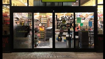 Portland police arrest 3 for Thanksgiving Day vandalism spree; 'at least' 10 businesses damaged