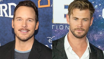 Chris Pratt jokes Chris Hemsworth needs to gain '25 lbs' before he'll appear on-screen with him in 'Thor 4'
