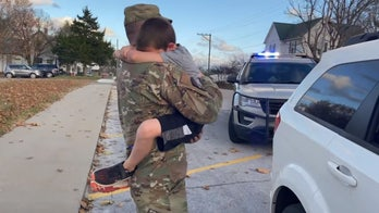 Missouri deputy surprises son after Afghanistan deployment in emotional reunion