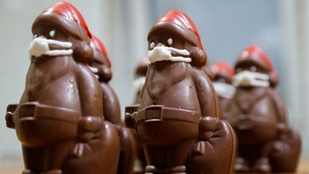 Mask-wearing chocolate Santas are huge hit for Hungarian confectioner