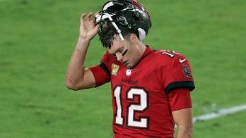 Social media erupts after Tom Brady snubs Jared Goff during Bucs-Rams postgame handshakes