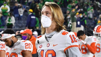 Trevor Lawrence reacts to Clemson-Florida State game getting postponed hours before kickoff