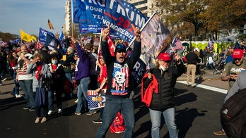 Thousands of Pro-Trump supporters descend on DC for 'Million MAGA March' near White House