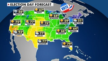 Election Day weather forecast across the US 'great looking,' features quiet, calm conditions