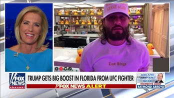 UFC's Jorge Masvidal praises Trump, predicts 'red wave' in Florida on Election Night