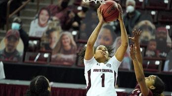 No. 1 South Carolina women rout Charleston in season opener