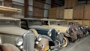 Secret collection of 1932 Plymouths going up for auction