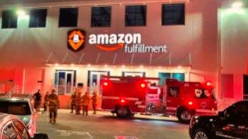 Amazon warehouse evacuated in hazmat scare; several employees hospitalized