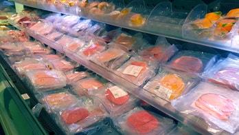 Vegan butcher opens slicing fake meat in London