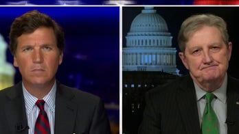 Sen. Kennedy: Media's disparate treatment of Biden, Trump will 'undermine democracy'
