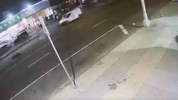 LAPD searching for 3 separate drivers who hit pedestrian and left him to die