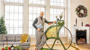 Hendrick's Gin selling a $2,500 penny farthing exercise bike