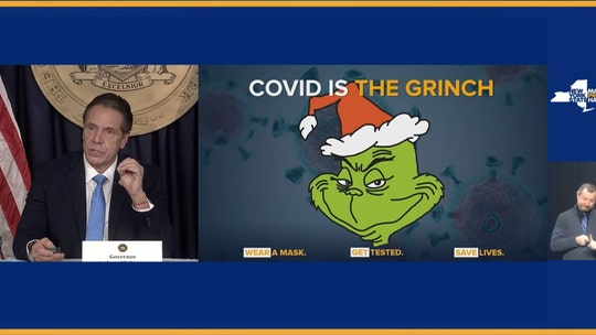 Cuomo criticized for calling coronavirus 'the Grinch' after profiting from response