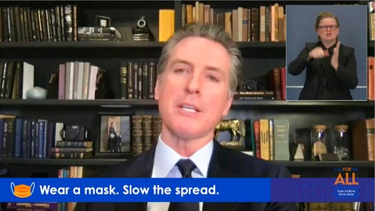 Gov. Gavin Newsom threatens 'drastic' new lockdown order