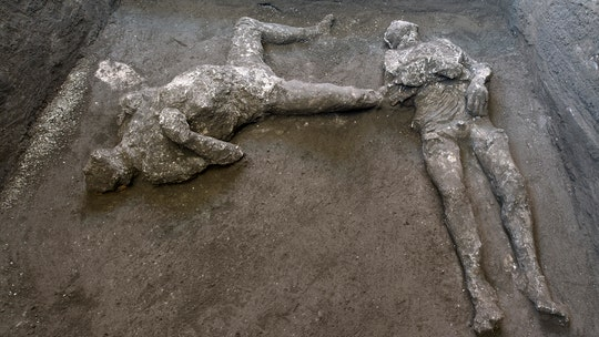 Pompeii ruins unearth 'master and slave' remains