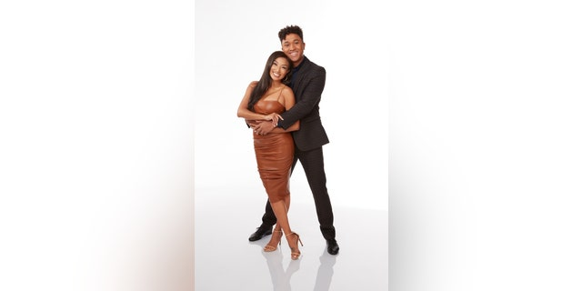 'Dancing with the Stars' stars Jeannie Mai and Brandon Armstrong. (ABC/Laretta Houston)