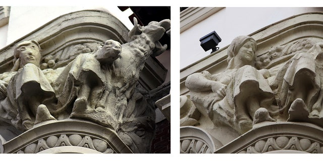 Botched sculpture restoration work in Spain draws laughs, memories of similar incident