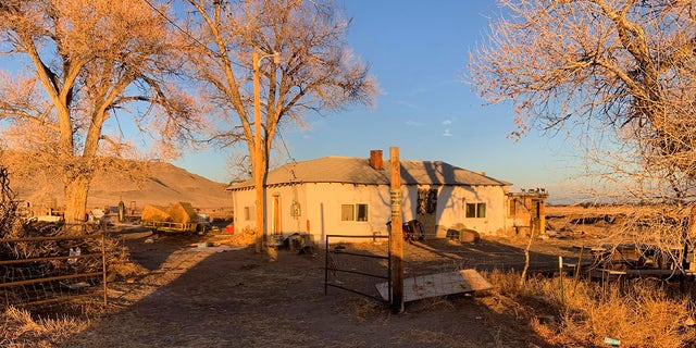 This photo released by the Colorado Bureau of Investigation shows one of two properties where skeletal remains were found, about 20 miles south-southeast of Alamosa, Colo., on Wednesday, Nov. 18, 2020. (Colorado Bureau of Investigation via AP)