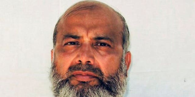 This undated image provided by the counsel to Saifullah Paracha shows Paracha at the Guantanamo Bay detention center.