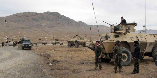 Afghan Army Base Bombing Kills Dozens