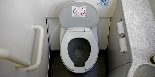 Some might see an airplane toilet. One TikTok user, however, saw a grill waiting to be fired up.